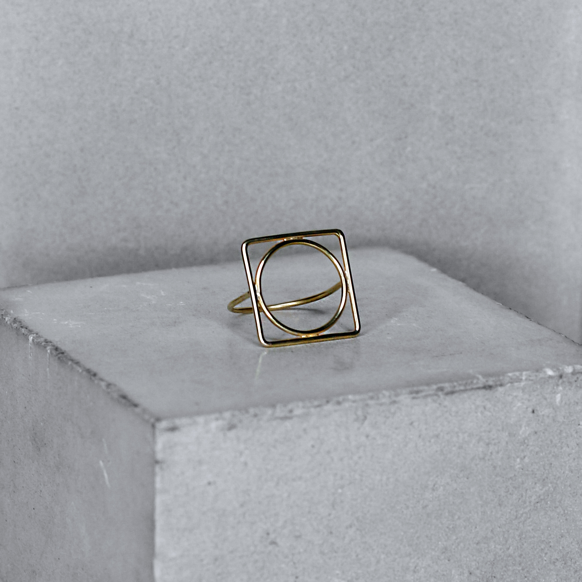 COMPLEX | gold plated silver 14K